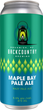 Backcountry - Maple Bay Pale Ale | Hazy Pale - Can