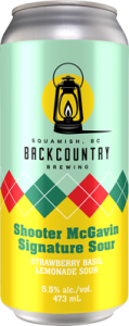 Backcountry - Shooter McGavin | Signature Sour - Front of Can