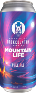 Backcountry Brewing - Mountain Life | Collaboration Pale Ale - Front of Can