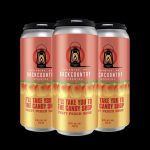 Backcountry Brewing - I'll Take You To The Candy Shop | Fuzzy Peach Sour - 4 Pack of Cans