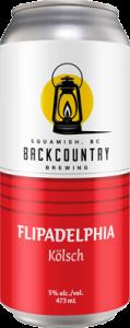 Backcountry Brewing - Flipadelphia | Kolsch - Can