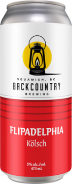 Backcountry Brewing - Flipadelphia | Kolsch - Can