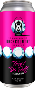 Backcountry Brewing - Treat Yo Self   ISA - Can