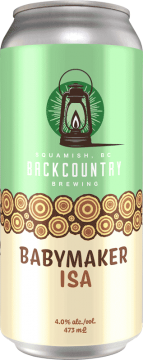 Backcountry Brewing - Babymaker | ISA - Front of Can
