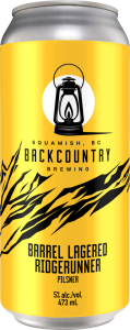 Backcountry Brewing - Missed The Starting Gun   13 Week Lager - Can Front Alternate