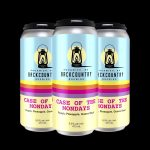 Backcountry Brewing - Case Of The Mondays | Peach, Pineapple & Guava Sour - 4 Pack of Cans