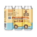 Backcountry Brewing - Living In A Band Down By The River | 2020 Collaboration Session IPA - 3 Pack Of Cans