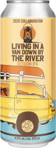 Backcountry Brewing - Living In A Band Down By The River | 2020 Collaboration Session IPA - Front of Can