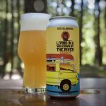 Backcountry Brewing - Living In A Band Down By The River | 2020 Collaboration Session IPA - Can Shot 01