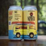 Backcountry Brewing - Living In A Band Down By The River | 2020 Collaboration Session IPA - Can Shot 02
