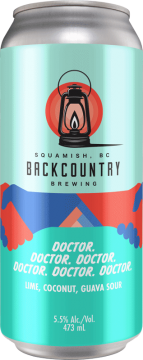 Backcountry Brewing - Doctor. Doctor. Doctor. Doctor. Doctor. Doctor. | Lime, Coconut and Guava Sour - Front of Can