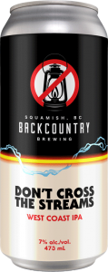 Backcountry Brewing - Don't Cross The Streams | West Coast IPA - Front of Can
