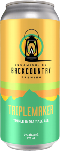Backcountry Brewing - Triplemaker | Triple India Pale Ale - Front of Can