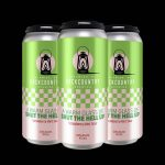Backcountry Brewing - A Warm Glass Of Shut The Hell Up | Strawberry Mint Julep Sour - 4 Pack of Cans