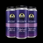 Backcountry Brewing   I Think We're Alone Now   Sabro, Galaxy and Strata IPA - Can Triple