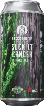 Backcountry Brewing - Suck It Cancer 2020   Pale Ale - Front of Can