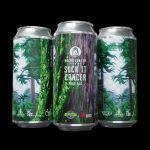 Backcountry Brewing - Suck It Cancer 2020   Pale Ale - Pack of Cans on black background
