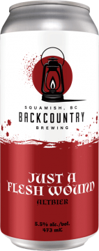 Backcountry Brewing | Just A Flesh Wound | Altbier - Front of Can