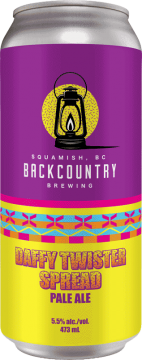 Backcountry Brewing | Daffy Twister Spread | Pale Ale - Front of Can