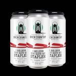 Backcountry Brewing   I Believe You Have My Stapler   Dry Hopped Lager - Pack of Cans