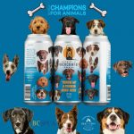 Backcountry Brewing   Throw Me A Frickin Bone Here   Pale Ale - Champions for Animals illustration