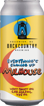 Backcountry Brewing | Everything's Coming Up Milhouse 2021 | West Coast IPA - Front of Can