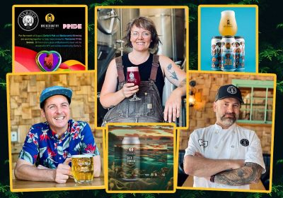 Backcountry Brewing - Summer News September 2021 collage image header