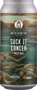 Backcountry Brewing   Suck It Cancer 2021   Pale Ale - Front of Can