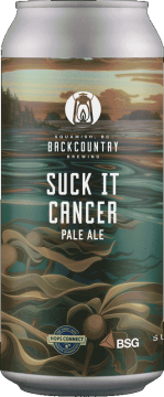 Backcountry Brewing | Suck It Cancer 2021 | Pale Ale - Front of Can